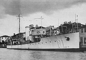 Romanian Navy during World War II - Romanian torpedo boat Năluca