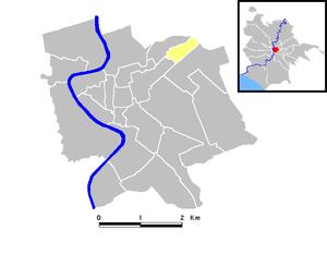 Sallustiano - Sallustiano rione (yellow)