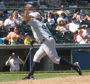 Ron Villone - Villone pitching for the Scranton/Wilkes-Barre Yankees, Triple-A affiliates of the New York Yankees.
