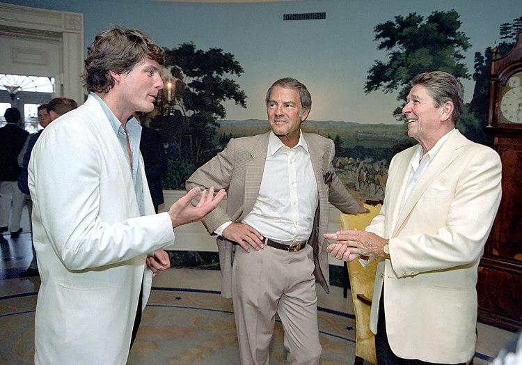 Ronald Reagan Christopher Reeve