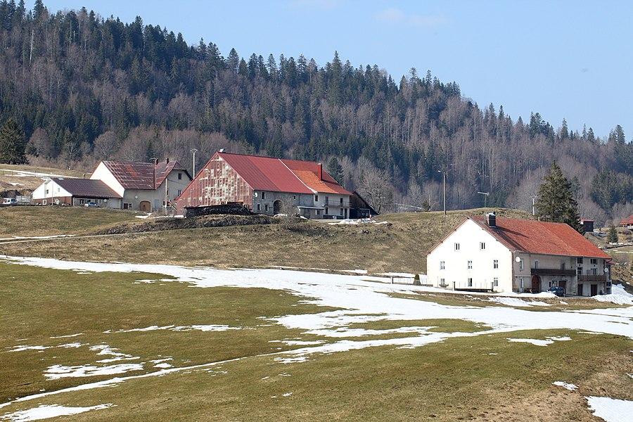 Vue de Rondefontaine (Doubs)