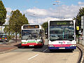 Rossendale Transport bus 146 (PN52 WWO) & First Manchester bus 60256 (W334 RJA), 6 September 2007.jpg