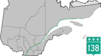 Quebec Route 138 - Image: Route 138 QC