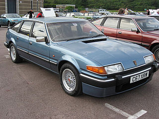 Rover SD1 executive car