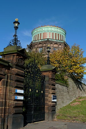 Royal Observatory, Edinburgh - Image: Royal Observatory Edinburgh East Tower 2010