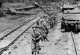 Royal Scots Fusiliers - Men of the 1st Battalion, Royal Scots Fusiliers in Burma, 1944. The battalion was part of the 29th Independent Brigade Group.