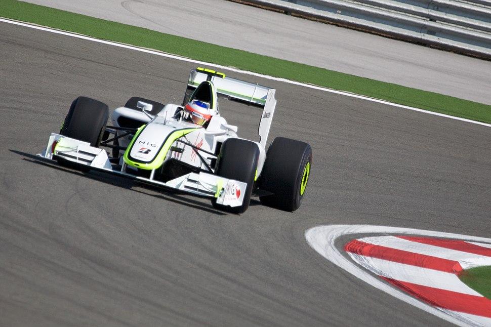 Rubens Barrichello 2009 Turkey