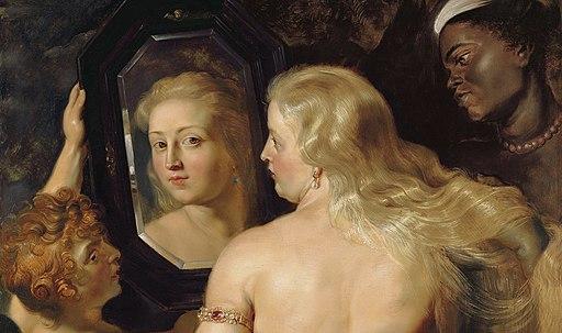 Rubens Venus at a Mirror c1615 crop