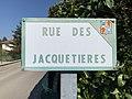 Rue des Jacquetières (Beynost), panneau.jpg