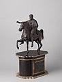 Ruiter te paard, kopie van het ruiterstandbeeld van Marcus Aurelius in Rome, BK-KOG-2524.jpg