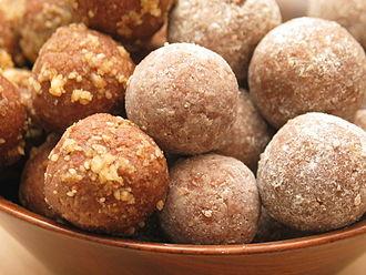 Rum ball - Image: Rum ball cookies