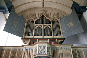 Rysum organ - The organ in Rysum