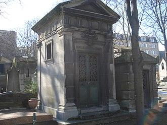 Maurice de Hirsch - Tomb of Baron de Hirsch, Montmartre Cemetery, Paris