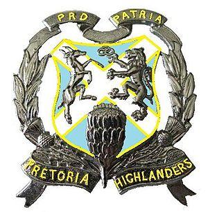 Pretoria Highlanders - SANDF Pretoria Highlanders emblem