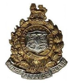 Prince Alfred's Guard - Image: SANDF Prince Alfreds Guards emblem
