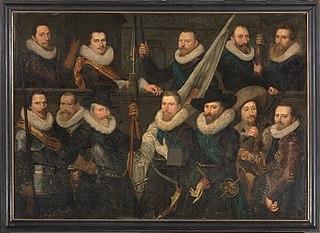 Guardsmen of the Company of Adriaen Pietersz. Raep and Dirck Hasselaer