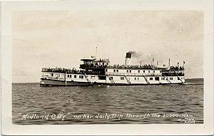 SS Midland City - Image: SS Midland City on Georgian Bay