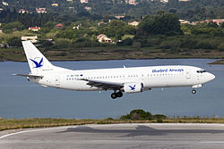 SX-TZE B737-400 Bluebird Airways (7173021737).jpg