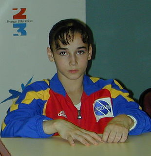 Sabina Cojocar Romanian artistic gymnast