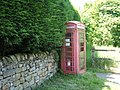 Sad old phone box - geograph.org.uk - 1336187.jpg