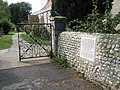 Sad plaque at entrance to Bosham parish church - geograph.org.uk - 928376.jpg