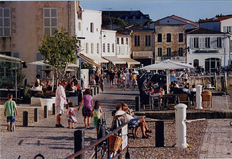 Aunis - Quays at Saint-Martin-de-Ré