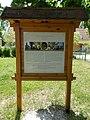 Saint Anne's Chapel, information board, Agárd, 2017 Gárdony.jpg
