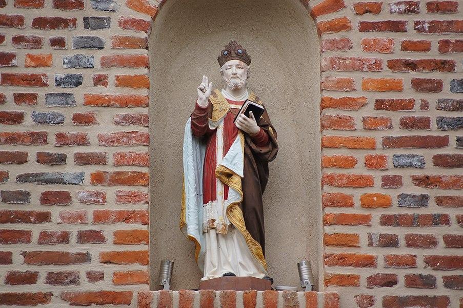 Saint Germain à la Rouelle statuette Chapelle Saint Germain Ribemont