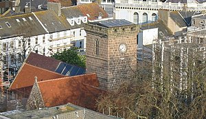 Parish Church of St Helier - A view from above
