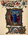 Saint Laurence of Rome. Colour lithograph. Wellcome V0032506.jpg