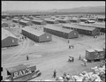 Salinas Assembly Center, California. Panorama of Salinas Assembly center. Persons of Japanese ance . . . - NARA - 537442.tif