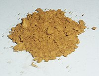 Sample of Chloro(pyridine)cobaloxime(III).jpg