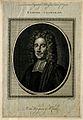 Samuel Clarke. Line engraving by J. Goldar after T. Gibson. Wellcome V0001145.jpg
