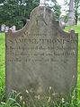 Samuel Thompson Tombstone, Oak Spring Cemetery, 2015-06-27, 02.jpg