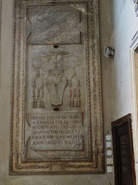 File:San Pietro in Vincoli - Tomba del Cardinale Sisto Gara della Rovere 2.jpg
