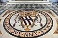 San giovanni in laterano, portico, stemma corsini sul pavimento.jpg