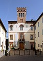 San venanzo, vecchia sede del comune, oggi museo vulcanologico, con torretta del 1934, 01.jpg