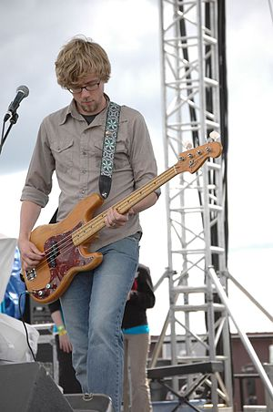 Sanctus Real - Bassist Dan Gartley in June 2006