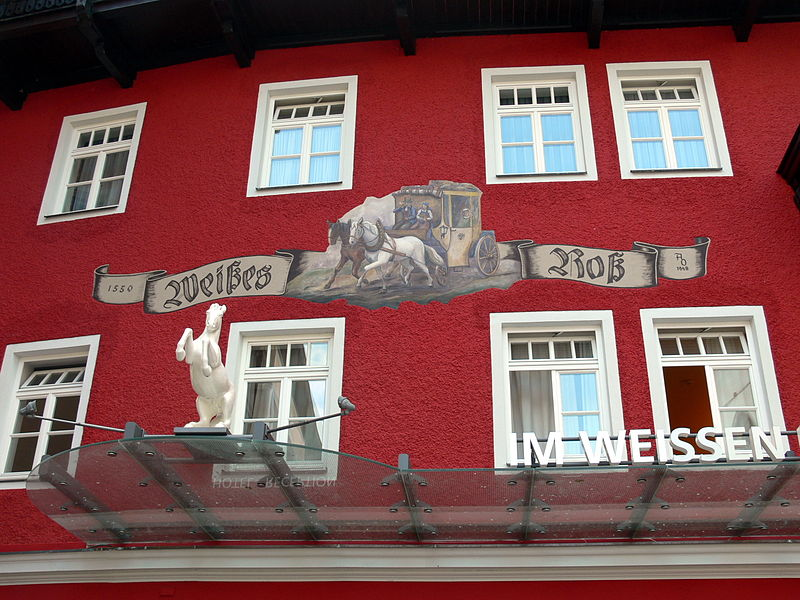 Hotel Weisses Roessl St Wolfgang
