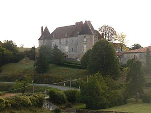 Beaulieu-sur-Sonnette - Chateau of Sansac