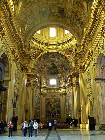 Sant'Andrea della Valle, Theatine church in Rome. Sant'Andrea della Valle.inside.JPG