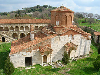 Apollonia (Illyria) - Church of Saint Mary in Apollonia