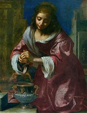 Saint Praxedis (painting) - Image: Santa Prassede Ficherelli