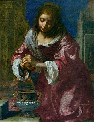 Saint Praxedis (painting) - Ficherelli's original