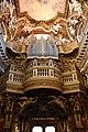 Santa maria della vittoria, organo su cantoria barocca di mattia de rossi, 1680.jpg