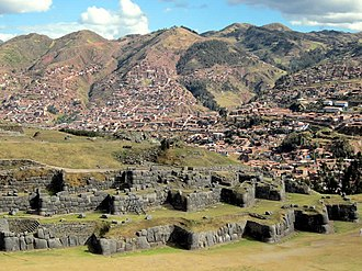 Cusco Province - The archaeological site of Saksaywaman near Cusco