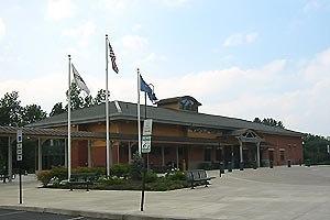 Saratoga Springs station - Saratoga Springs station in July 2006