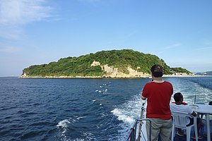 Sarushima from boat 2010.jpg