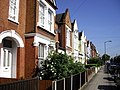 Satellite dishes on houses in Maxfield Road, Wandsworth - geograph.org.uk - 1332562.jpg