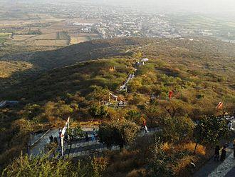 Shatrunjaya - Steps on the Satrunjaya Hill